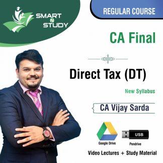 CA Final Direct Tax (DT) by CA Vijay Sarda (new syllabus) Regular Course
