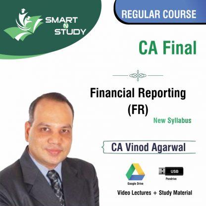 CA Final Financial Reporting by CA Vinod Agarwal (new syllabus) Regular Course
