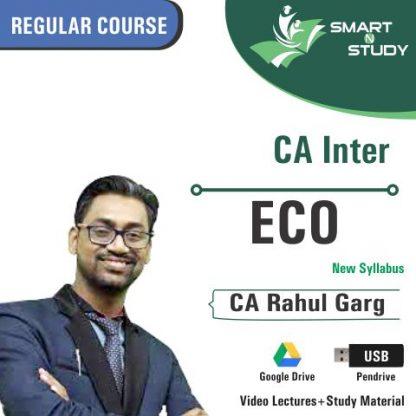 CA Inter ECO by CA Rahul Garg (new syllabus) Regular Course