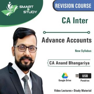 CA Advanced Accounts by CA Anand Bhangariya (new syllabus)