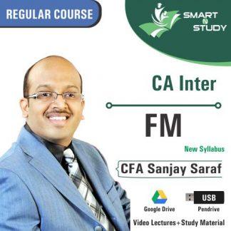 CA Inter FM By CFA Sanjay Saraf