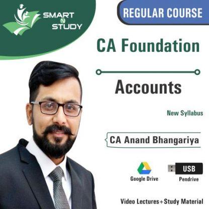 CA Inter Accounts by CA Anand Bhangariya (new syllabus)
