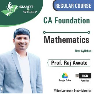CA Foundation Mathematics by Prof. Raj Awate (new syllabus)