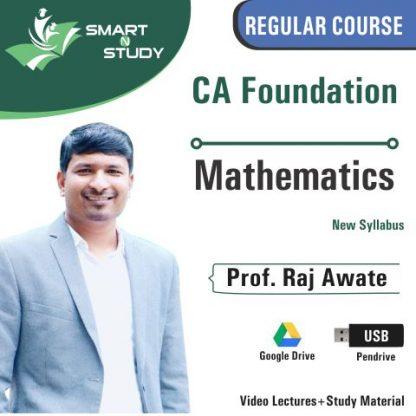 CA Foundation Mathematics by Prof. Raj Awate (new syllabus)
