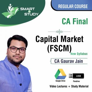 CA Final Capital Market (FSCM) by CA Gaurav Jain (new syllabus) Regular Course