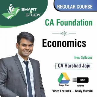 CA Foundation Economics by CA Harshad Jaju (new syllabus) Regular Course