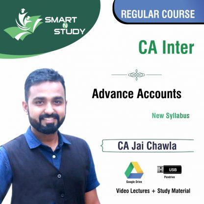 CA Inter Advanced Account by CA Jai Chawla (new syllabus) Regular Course