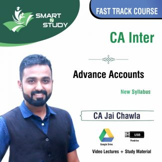 CA Inter Advanced Accounts by CA Jai Chawla (new syllabus) Fast Track Course