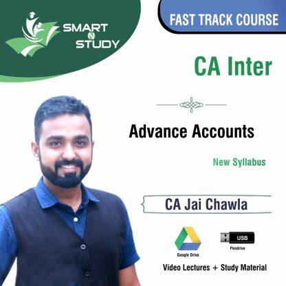 CA Inter Advanced Accounts by CA Jai Chawla (new syllabus) Fast Track Course