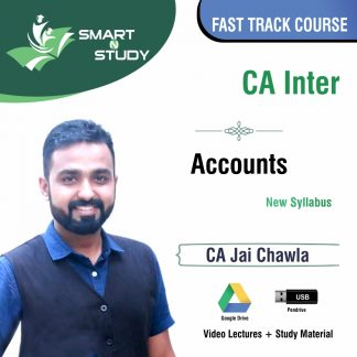 CA Inter Accounts by CA Jai Chawla (new syllabus) Fast Track Course
