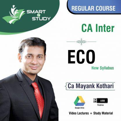 CA Inter ECO by CA Mayank Kothari (new syllabus) Regular Course