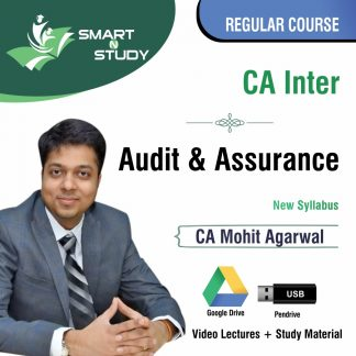 CA Inter Audit & Assurance by CA Mohit Aggarwal (new syllabus) Regular Course