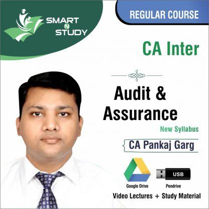 CA Inter Audit and Assurance by CA Pankaj Garg (new syllabus) Regular Course