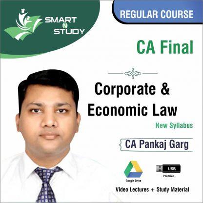 CA Final Corporate and Economic Law by CA Pankaj Garg (new syllabus) Regular Course