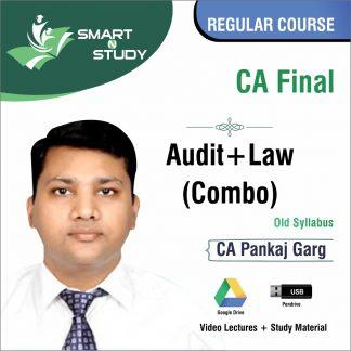 CA Final Audit+Law Combo by CA Pankaj Garg (old syllabus) Regular Course