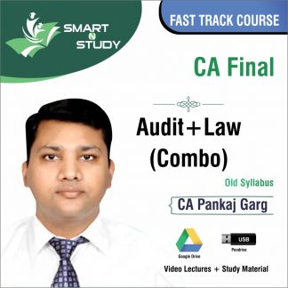 CA Final Audit+Law Combo by CA Pankaj Garg (new syllabus) Fast Track Course