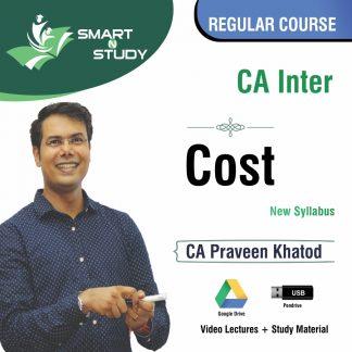 CA Inter Cost by CA Praveen Khatod (new syllabus) Regular Course
