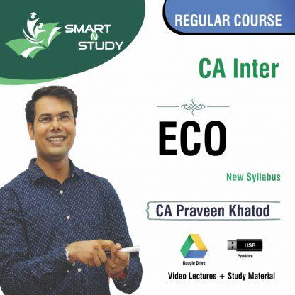 CA Inter ECO by CA Praveen Khatod (new syllabus) Regular Course