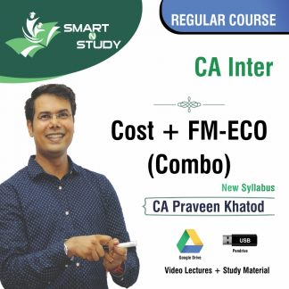 CA Inter Cost+FM-ECO Combo by CA Praveen Khatod
