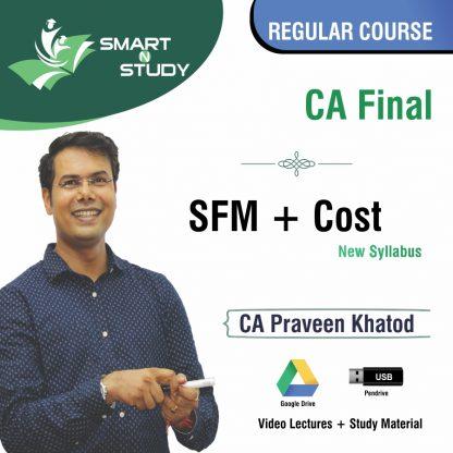 CA Final FM+Cost by CA Praveen Khatod (new syllabus) Regular Course