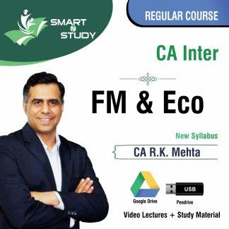 CA Inter FM&ECO by CA R.K. Mehta (new syllabus) Regular Course