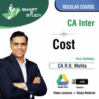 CA Cost by CA R.K. Mehta (new syllabus) Regular Course