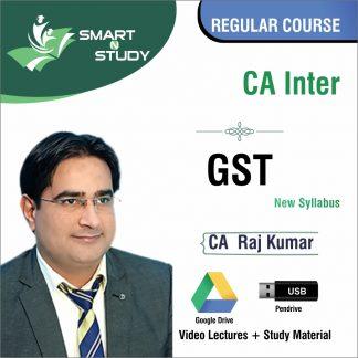 CA Inter GST by CA Raj Kumar (new syllabus) Regular Course