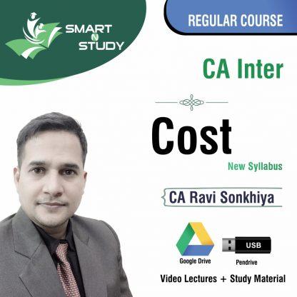 CA InterCost by Ravi Sonkhiya (new syllabus) Regular Course