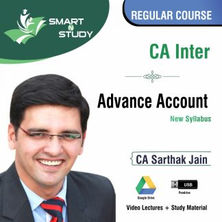 CA Final Advanced Account y CA Sarthak Jain(new syllabus) Regular Course