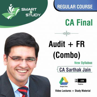 CA Final Audit+FR (Combo) by CA Sarthak Jain (new syllabus) Regular Course