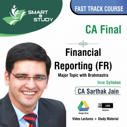 CA Final Financial Reporting (FR) Major Topic with Brahmastra by CA Vinod Aggarwal (new syllabus) Fast Track Course
