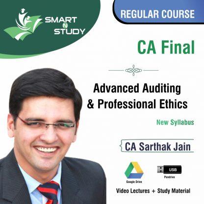 CA Final Advanced Auditing & Professional Ethics by CA Sarthak Jain (new syllabus) Regular Course