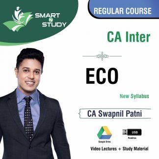 CA inter ECO by CA Swapnil Patni (new syllabus) Regular Course