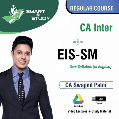 CA Inter EIS-SM by CA Swapnil Patni Regular Course (new syllabus)