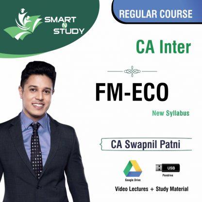 CA Inter FM-ECO by CA Swapnil Patni (new syllabus) Regular Course