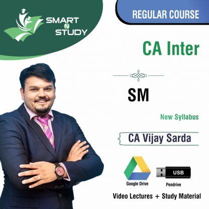 CA Inter SM by CA Vijay Sarda (new syllabus) Regular Course