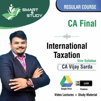 CA Final International Taxation by CA Vijay Sarda (new syllabus) Regular Course