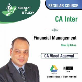 CA Inter Financial Management by CA Vinod Agarwal (new syllabus) Regular Course
