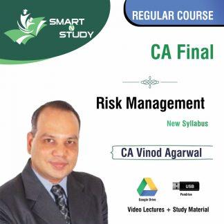 CA Final Risk Management by CA Vinod Agarwal (new syllabus) Regular Course