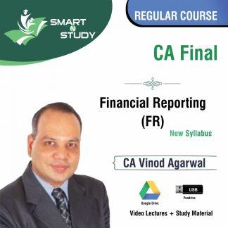 CA Final Financial Reporting (FR) by CA Vinod Aggarwal (new syllabus) Regular Course