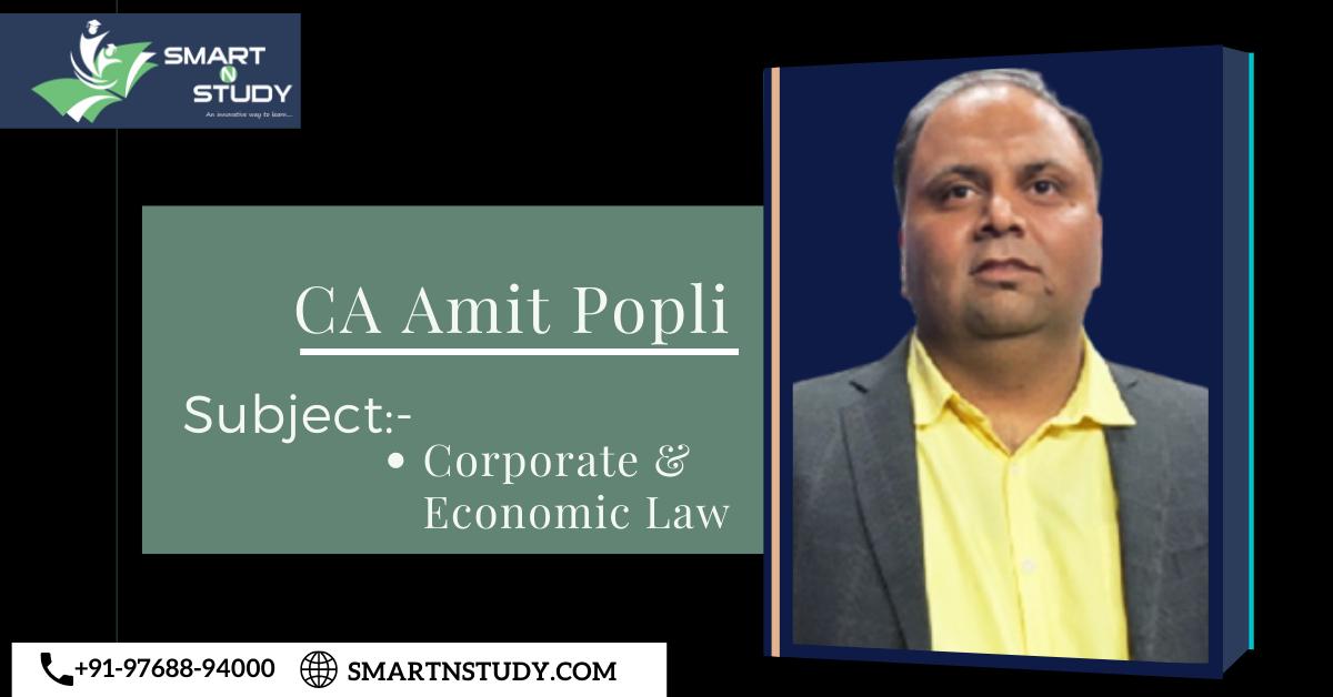 CA Amit Popli Law