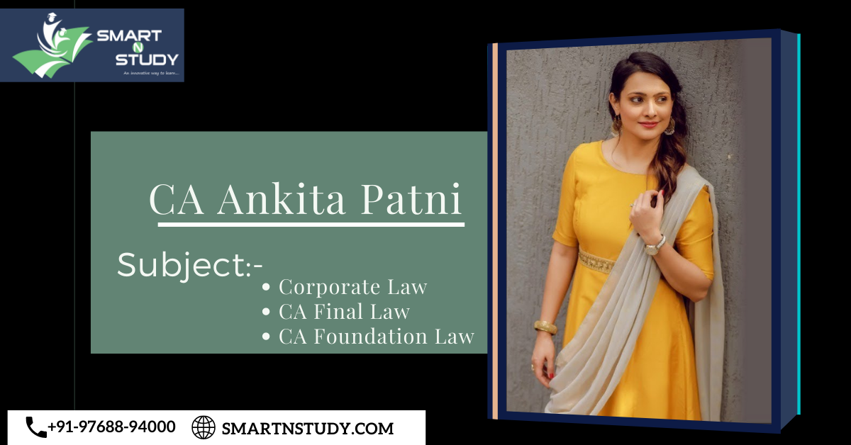 CA Ankita Patni Law