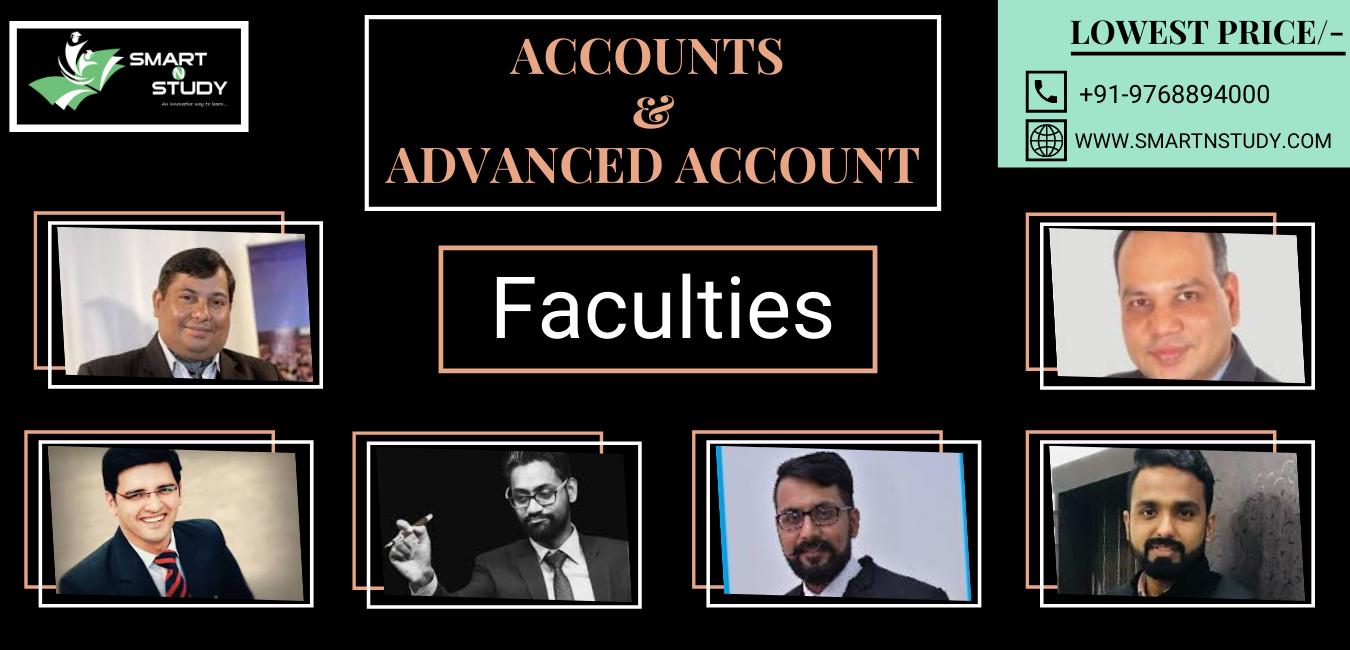 SmartNStudy Account Faculties